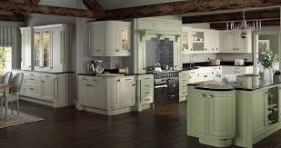 henley cream sage green kitchen