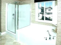 installing a stand up shower tub bath with plans removing and s jay installing the new stand up shower