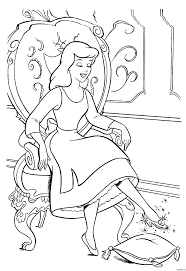 Small Picture Cinderella Printable Coloring Pages Prince U0026 Cinderella Kiss