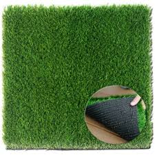 zestynest grass door mat with smartdrain technology perfect for your garden balcony porch 24x30 inches
