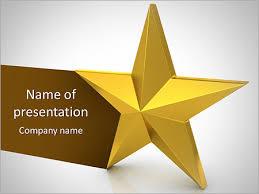 star ppt template golden star powerpoint template backgrounds google slides id
