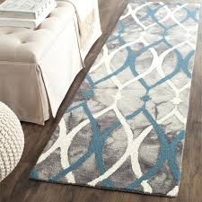 blue and white striped rug medium size of area
