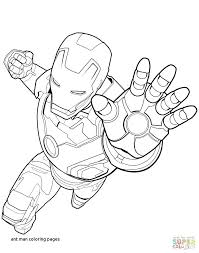 ironman coloring pages. Unique Ironman Ironman Coloring Pages Unique Ant Man Page By For  Of And Captain America With Supportbloginfo