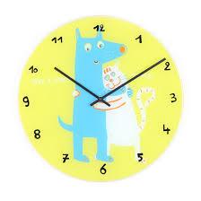 home clock kids nextime kids wall clock jim jane
