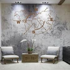 map wall art metal art wall world map