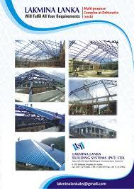 Building Constructions Company Lakmina Lanka Lakmina Lanka Building Systems Pvt Ltd