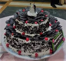 Black Forest Birthday Cake Picture Of Swiss Gourmessa New Delhi