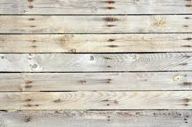 Unpainted Wooden Fence Horizontal Stock Image Image of wall