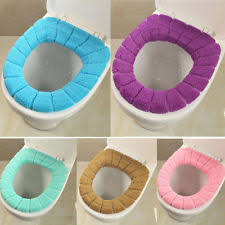 cushioned toilet seat covers. us toilet seat soft cloth washable lid top cover pad closestool bathroom warmer cushioned covers