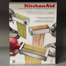 Kitchenaid 3pc Pasta Roller Set Attachment For Stand Mixer