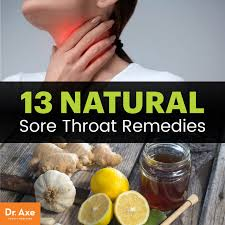 13 natural sore throat remes for fast relief