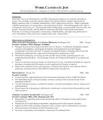 Administrative Assistant Functional Resume Best Resume Format For