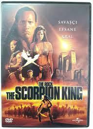 THE SCORPION KING THE ROCK - AKREP KRAL - DVD SIFIR