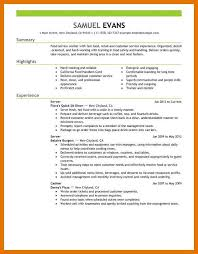 Server Experience Resume Examples 9 10 Resume Samples For Servers Juliasrestaurantnj Com