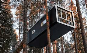 invisible tree house hotel. Treehotel Cabin - Treehotel, In North Sweden, Sweden Invisible Tree House Hotel M