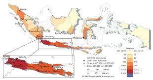 Image Result For Population Maps Of Jakarta Java Indonesia