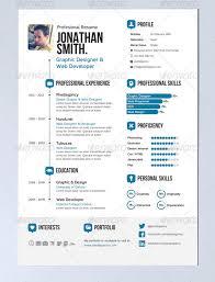 Modern Resume Infographics 20 Creative Infographic Resume Templates Bashooka