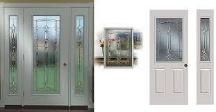 Front Door Glass Replacement Doors Garage Ideas