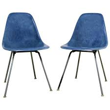 original eames chair for sale. vintage pair of herman miller eames molded fiberglass dsx side chairs original chair for sale