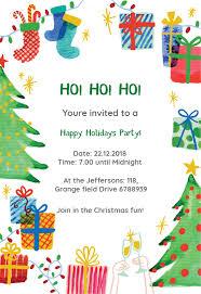 Free Christmas Party Invitation Templates Christmas Invitations Rome Fontanacountryinn Com