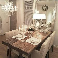 glam lighting. in love with this rustic table glam setting and lighting e