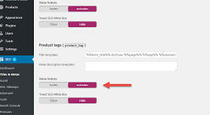 Should I Noindex Woocommerce Product Tag Pages?