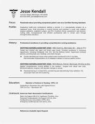 22 Free Nursing Assistant Cover Letter Free Latest Template Example