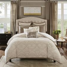 madison park bedding. Unique Bedding Madison Park Signature Glamorous Natural Embroidered Comforter Set Intended Bedding S