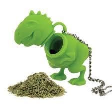 Appliances Dinosaur <b>Tea Infuser Loose Leaf</b> Strainer Herbal ...