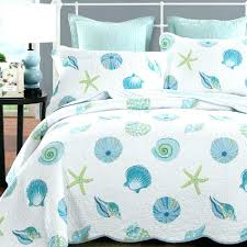 beach scene duvet cover twin theme patchwork quilt ss print quilted bedspreads modern summer sets c