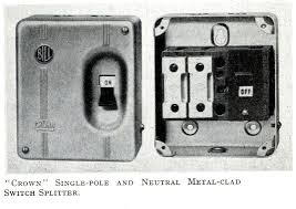eec247 electrics in the 1950s bill crown fuse box from 1957