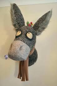 stuffed animal wall mounts stuffed animal heads for wall faux animal heads faux animal head faux