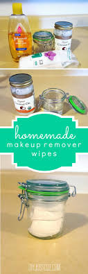 homemade makeup remover wipes