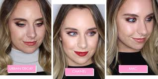i had a makeover at 10 diffe beauty counters and this is what they all looked like
