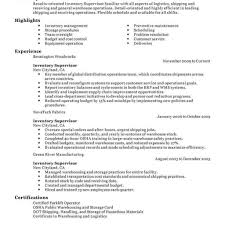 Receiving Resume Shipping And Receiving Description For Resume 7 with Job  Description For Logistics Supervisor