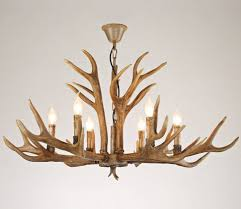 chandeliers faux antlerelier small with ceiling fan pottery barn inside well known white antler chandelier