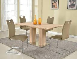 light oak dining table modern dining tables dinette furniture light oak round dining table and chairs