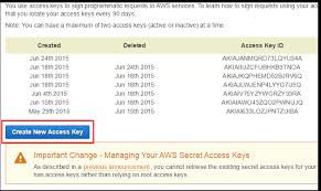 Access Key How To Get Aws Access Key Id And Secret Access Key