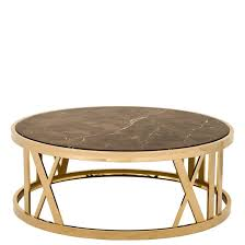 more views baccarat coffee table gold