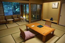 Corner Lighting Japanese Living Room Furniture Sliding Door Beside Balcony Vases