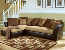 marvelous couches ashley furniture couch furniture living room style phoenix ashley sectional sofa furniture chocolate line leather cover frame tan resize=618 475