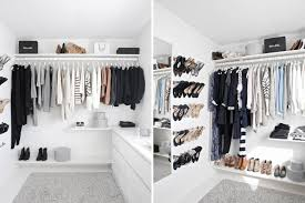 Walk in closet Grey The Spruce 21 Best Small Walkin Closet Storage Ideas For Bedrooms