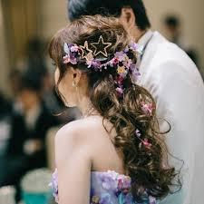 髪型迷子の花嫁さま必見ボリュームハーフアップが可愛くて