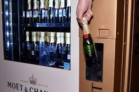 Champagne Vending Machine London Stunning Mandarin Oriental Las Vegas Installs A Moet Chandon Champagne