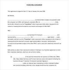 scholarship contract template resume seductive sample scholarship 15 franchise agreement templates sample example format