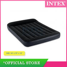 <b>Intex Full Pillow</b> Rest Classic Airbed with Fiber Tech | Shopee ...