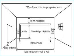 normal picture size stunning standard car garage door width u design picture of size two