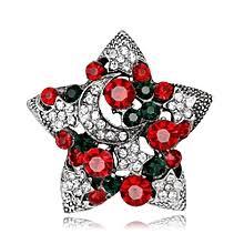<b>New</b> Year Christmas Gifts Star Brooches <b>Fashion Design</b> Colorful ...
