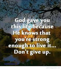 Never Give Up On Life Quotes Mesmerizing Quotes About Not Giving Up On Life Awe Inspiring Never Give Up Life