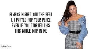 Demi Lovato - Father (Lyrics) - YouTube
